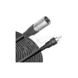 Hosa Technology RCA Male to 3-Pin XLR Male Audio Cable XRM-105