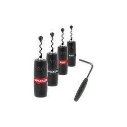 AudioQuest Set of Four Silver Sure Grip BFA Screw 68-090-55 B&H