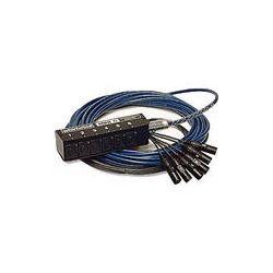 Whirlwind Mini 6 Low Profile Audio Drop Snake (40') MS-6-M-NR-40