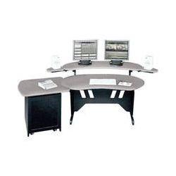 "Middle Atlantic ES+S12D-PS 60"" Edit Center Desk ES+S12D-PS"