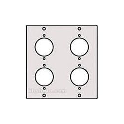 Raxxess XLR-4M XLR Male Modular Connector Panel XLR-4MA B&H