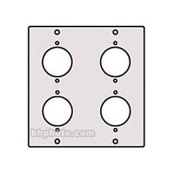 Raxxess XLR-4F XLR Female Modular Connector Panel XLR-4FA B&H