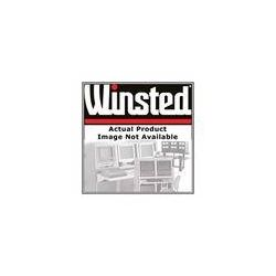 "Winsted Two-Bay Shelf with 3"" Beveled Oak Front 81512 B&H"