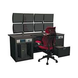 Winsted E4860 Dual Cabinet Graphics Desk with LCD Mount E4860