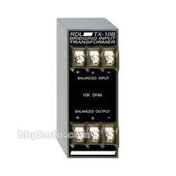 RDL  TX-10B Bridging Input Transformer TX-10B B&H Photo Video