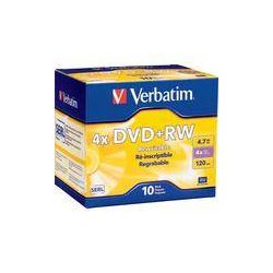 Verbatim  DVD+RW 4x Disc (10) 94839 B&H Photo Video