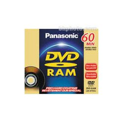 Panasonic 2.8GB DVD-RAM Disc for DVD Camcorders LM-AF60U B&H