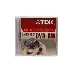TDK  DVD-RW14RGA Mini DVD-RW Disc (1) 48570 B&H Photo Video