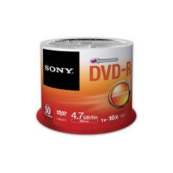 Sony Recordable Storage DVD-R (Pack of 50) 50DMR47SP B&H Photo