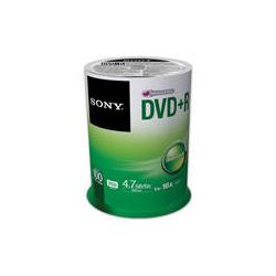 Sony Recordable Storage DVD+R (Pack of 100) 100DPR47SP B&H Photo