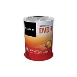 Sony Recordable Storage DVD-R (Pack of 100) 100DMR47SP B&H Photo