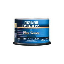 Maxell DVD-R Inkjet Printable Matte Silver Recordable 635080 B&H