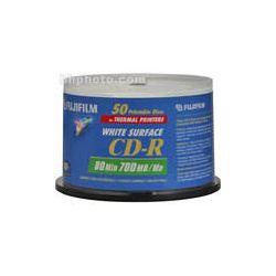 Fujifilm  CD-R White Thermal Disc (50) 600002933 B&H Photo Video