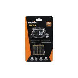 Fenix Flashlight HP25 Dual Beam LED Head Lamp (Gray) HP25-R4-GY