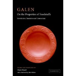 Galen, On the Properties of Foodstuffs by Galen, 9780521812429.