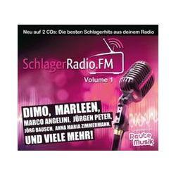 Musik: SchlagerRadio.FM Vol.1  von Powered By Rautemusik