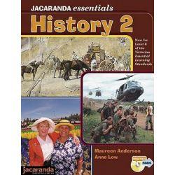Jacaranda Essentials History 2, Jacaranda Essentials Series by Anderson, 9780731406104.