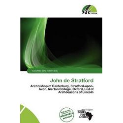 John de Stratford by Columba Sara Evelyn, 9786200202185.