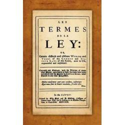 Les Termes de La Ley by John Rastell, 9781584775478.