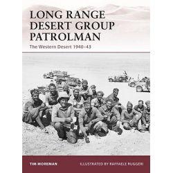 Long Range Desert Group Patrolman, The Western Desert 1940-43 by Tim Moreman, 9781846039249.