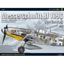 Messerschmitt Bf 109 G Over Germany, Pt. 1 by Marek Murawski, 9788360445983.