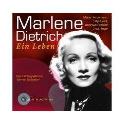 Hörbücher: Marlene Dietrich  von Werner Sudendorf