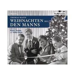 Hörbücher: Weihnachten bei den Manns  von Thomas Mann