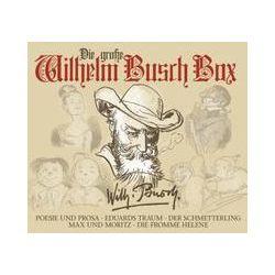 Hörbücher: Die große Wilhelm Busch Box  von Wilhelm Busch