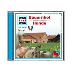 Hörbücher: Was ist was Hörspiel-CD: Bauernhof/ Hunde  von Matthias Falk von Matthias Falk