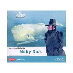 Hörbücher: Moby Dick  von Herman Melville mit Joachim Kerzel, Helmut Krauss, Oliver Rohrbeck