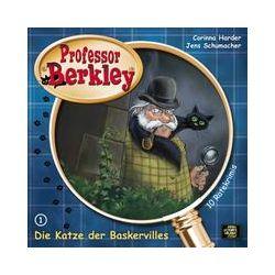 Hörbücher: Professor Berkley 01. Die Katze der Baskervilles  von Jens Schumacher, Corinna Harder