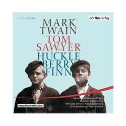 Hörbücher: Tom Sawyer & Huckleberry Finn  von Mark Twain