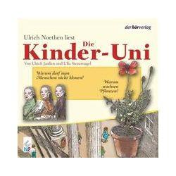Hörbücher: Die Kinder-Uni 2. Warum wachsen Pflanzen? Warum darf man Menschen nicht klonen? CD  von Ulla Steuernagel, Ulrich Janssen