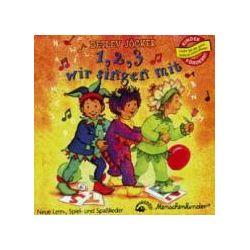 Hörbücher: Eins, zwei, drei wir singen mit. CD  von Detlev Jöcker