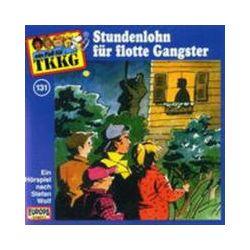 Hörbücher: 131/Stundenlohn Für Flotte Gangster  von Stefan Wolf von Heikedine Körting