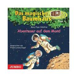 Hörbücher: Das magische Baumhaus 08. Abenteuer auf dem Mond. CD  von Mary Pope Osborne