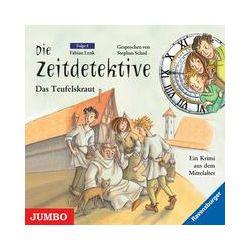 Hörbücher: Die Zeitdetektive 04. Das Teufelskraut. CD  von Fabian Lenk