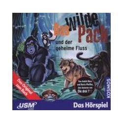 Hörbücher: Das wilde Pack Folge 3: Das Wilde Pack und der geheime Fluss (Audio-CD)  von Boris Pfeiffer, André Marx