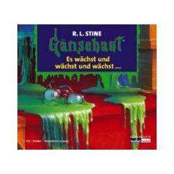 Hörbücher: Gänsehaut 04. Es wächst und wächst und wächst ... CD  von Edited By R. L. Stine