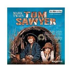 Hörbücher: Tom Sawyer  von Mark Twain von Günter Merlau