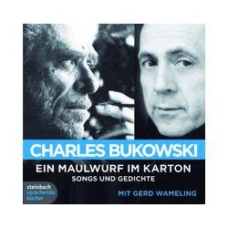Hörbücher: Ein Maulwurf im Karton  von Charles Bukowski von Hanks