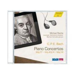 Hörbücher: Klavierkonzerte Wq 17,Wq 43/4,Wq 14  von Carl Philipp Emanuel Bach von Michael Rische