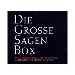 Hörbücher: Die große Sagenbox, 20 Audio-CDs  von Nadja-Christina Schneider, Ulrich Rössler, Auguste Lechner