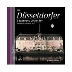 Hörbücher: Düsseldorfer Sagen und Legenden  von Nadine Boos von Michael John