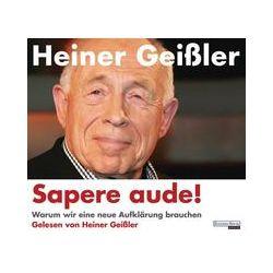 Hörbücher: Sapere aude!  von Heiner Geissler