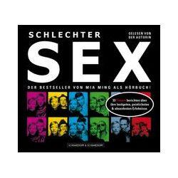 Hörbücher: Schlechter Sex/2 CDs  von Mia Ming
