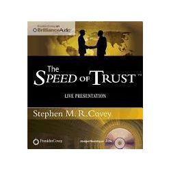 Hörbücher: The Speed of Trust: Live Presentation  von Stephen M. R. Covey