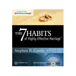 Hörbücher: The 7 Habits of Highly Effective Marriage  von Stephen R. Covey von John M. R. Covey