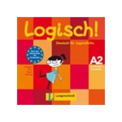 Hörbücher: Logisch! A2 - 2 Audio-CDs zum Kursbuch A2  von Stefanie Dengler, Cordula Schurig, Sarah Fleer, Paul Rusch