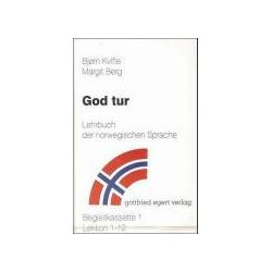 Hörbücher: God tur. Lehrbuch der norwegischen Sprache. Begleitcassette 1/2. 2 Cassetten  von Margit Berg, Björn Kvifte